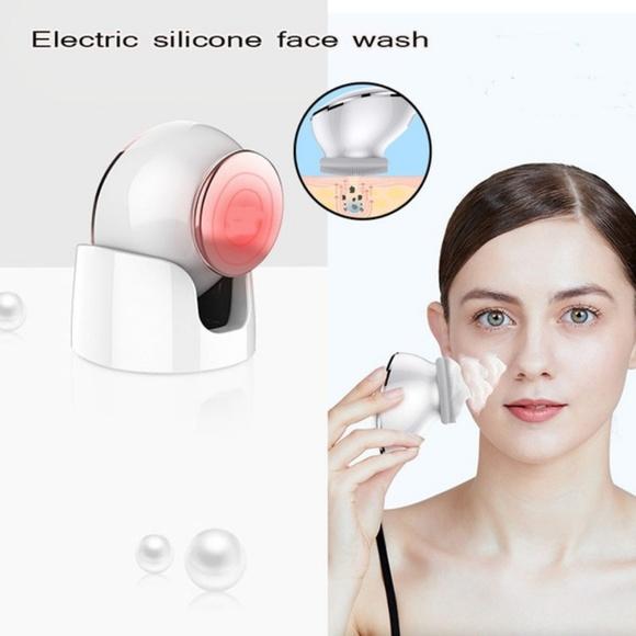 Facial Ultrasonic Skin Scrubber Effective Facial C